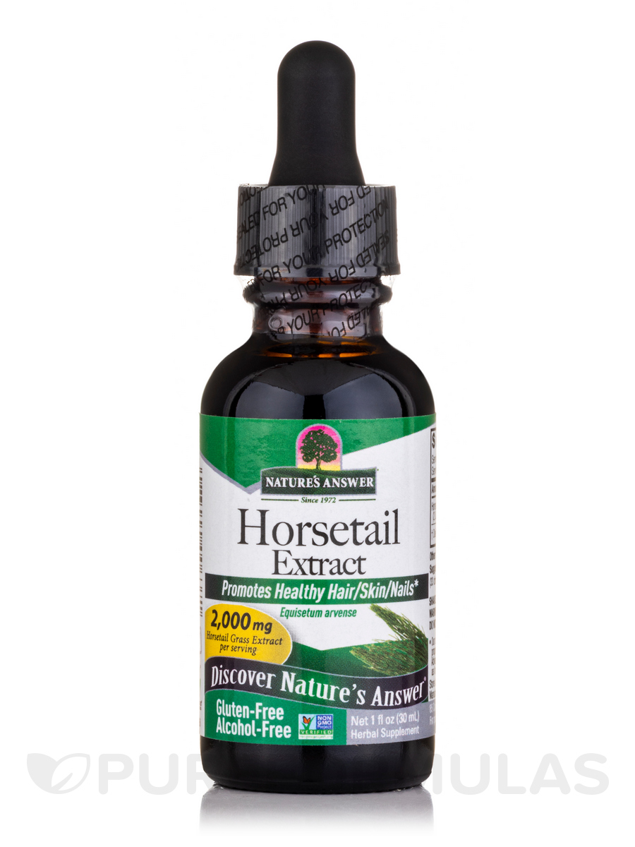 Horsetail Herb Extract (Alcohol-Free) - 1 fl. oz (30 ml)