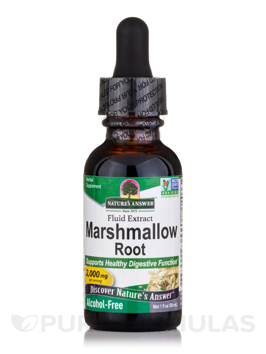 Marshmallow Root Extract (Alcohol-Free) - 1 fl. oz (30 ml)