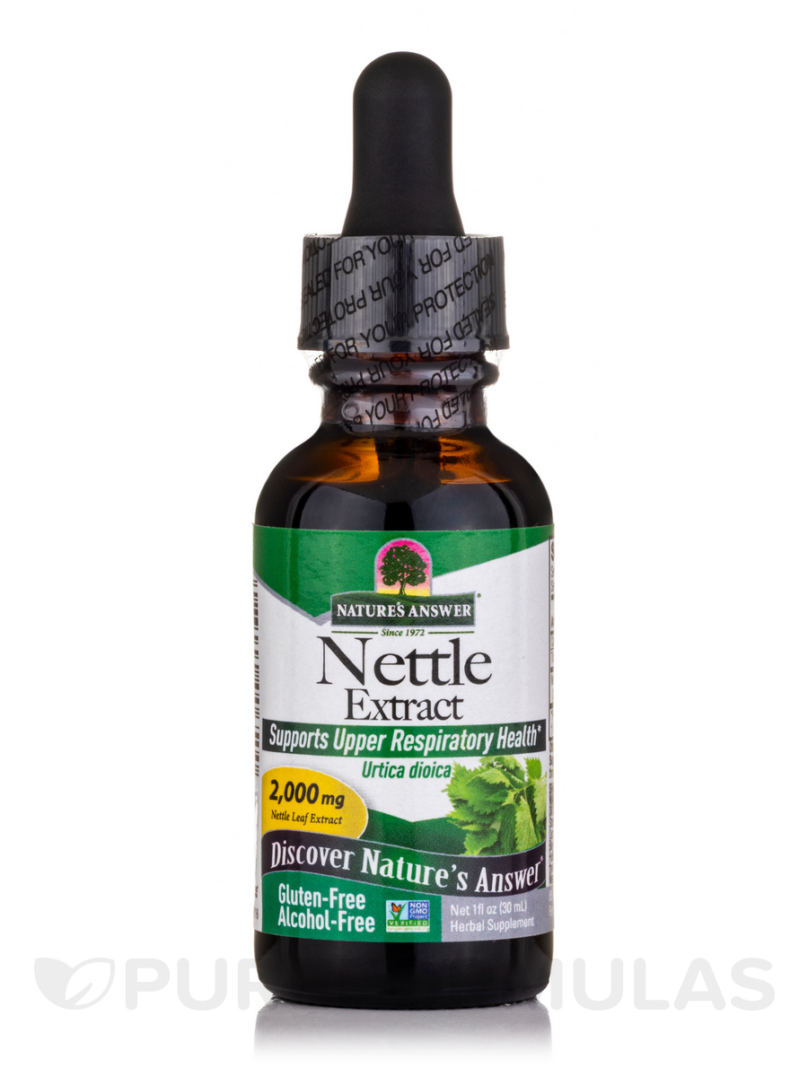 Nettle Leaf Extract (Alcohol-Free) - 1 fl. oz (30 ml)