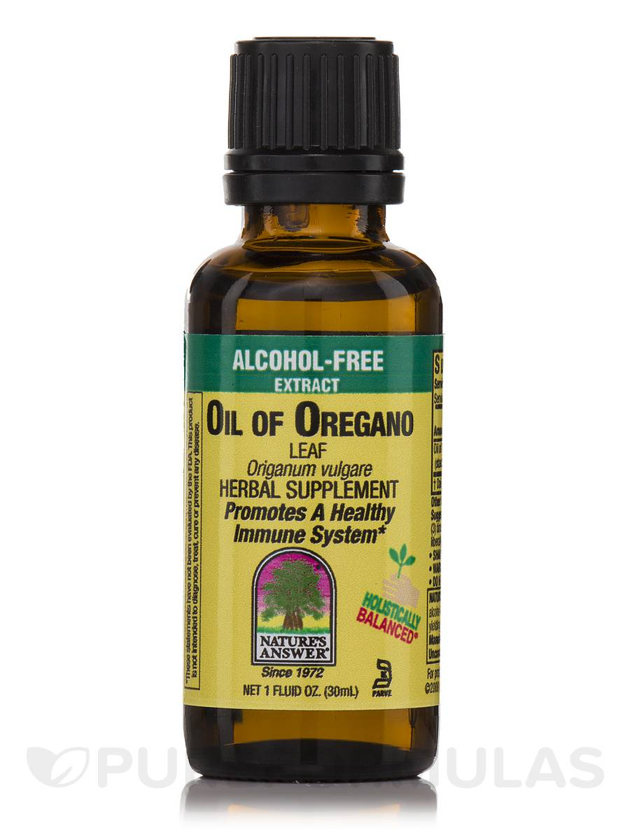 Oil of Oregano Leaf Extract (Alcohol-Free) - 1 fl. oz (30 ml)