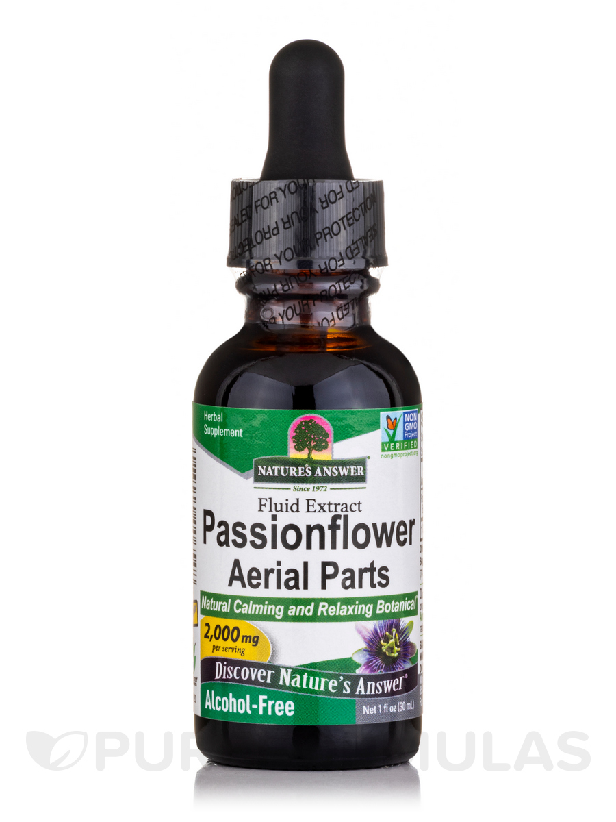 Passion Flower Herb Extract (Alcohol-Free) - 1 fl. oz (30 ml)