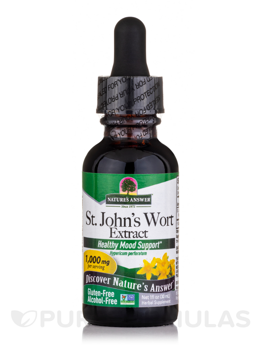 St. John's Wort Extract (Alcohol-Free) - 1 fl. oz (30 ml)