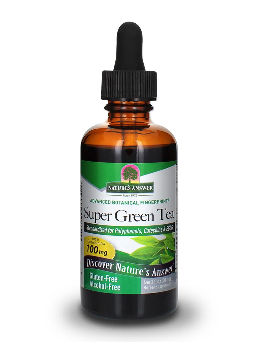 Super Green Tea Extract (Alcohol-Free) - 2 fl. oz (60 ml)