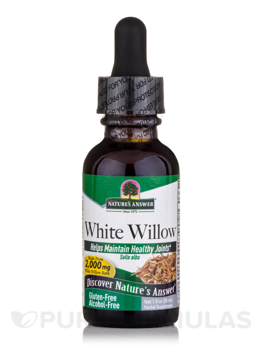 White Willow Bark Extract (Alcohol-Free) - 1 fl. oz (30 ml)