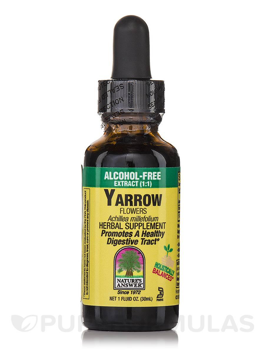 Yarrow Flowers Extract (Alcohol-Free) - 1 fl. oz (30 ml)