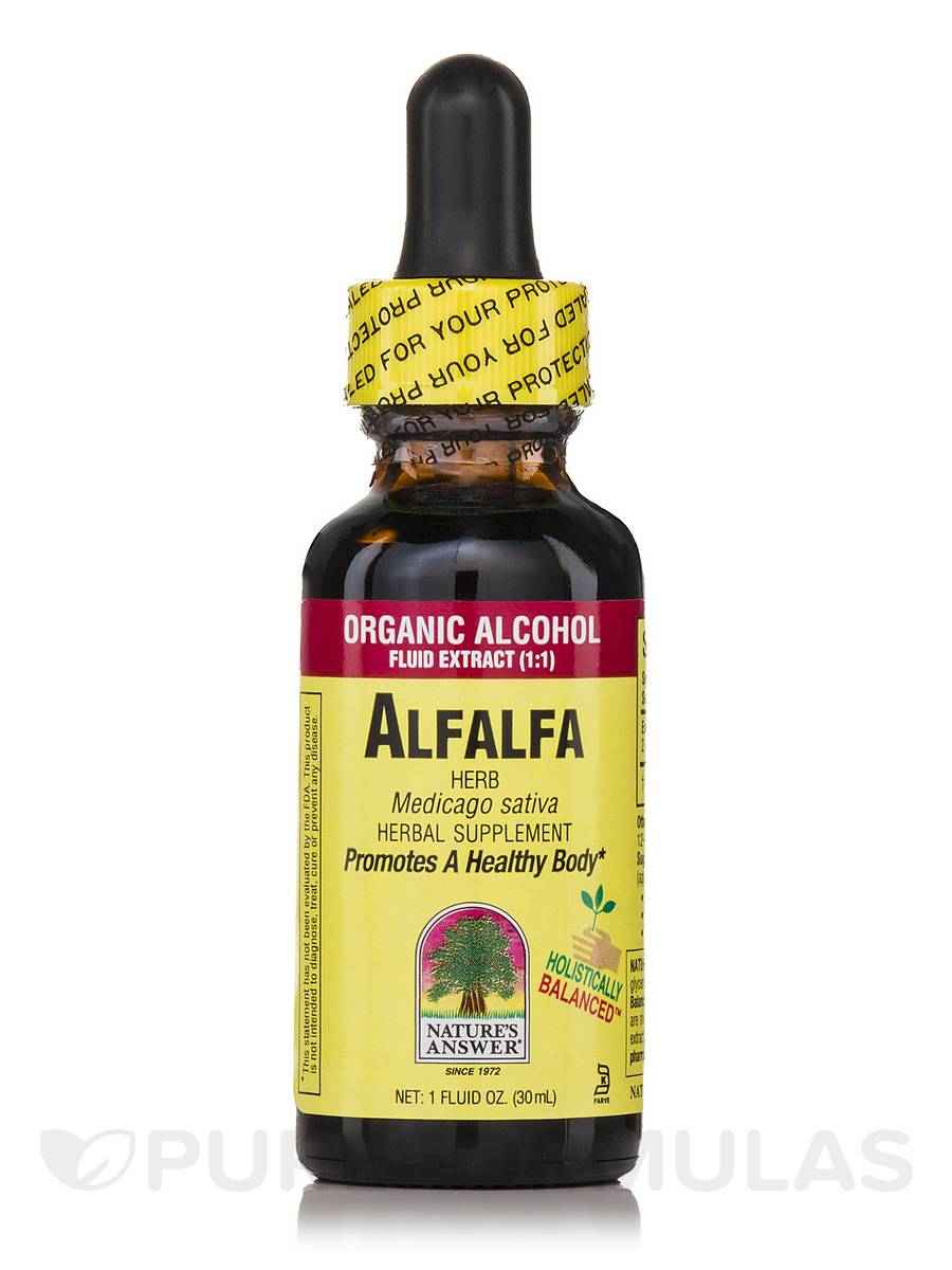 Alfalfa Herb Extract - 1 fl. oz (30 ml)