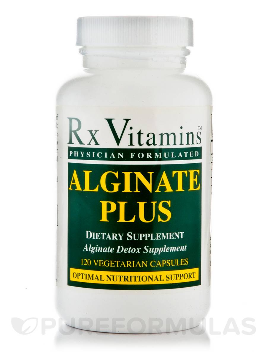 Alginate Plus - 120 Vegetarian Capsules