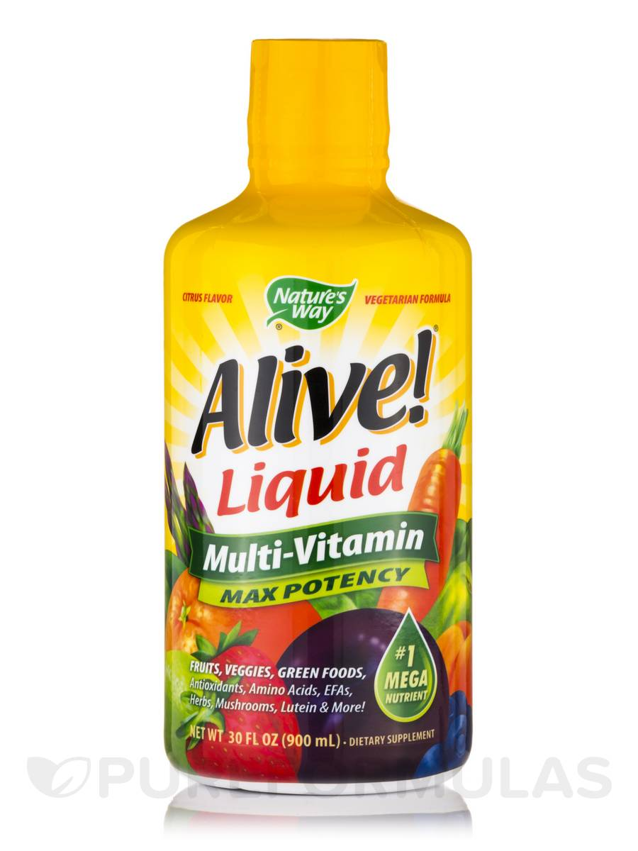 Alive!® Liquid Multi - 30 fl. oz (900 ml)