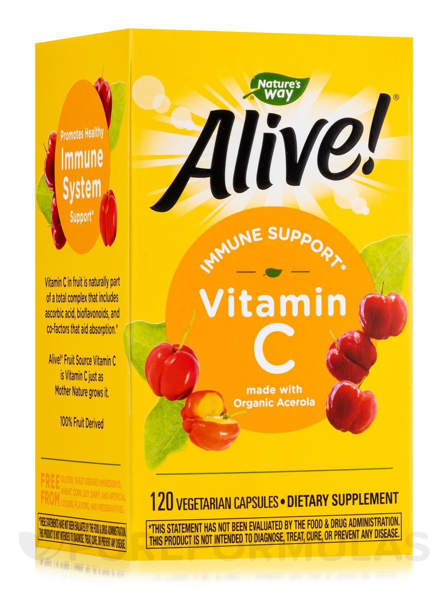 Alive!® Vitamin C Organic - 120 VCaps