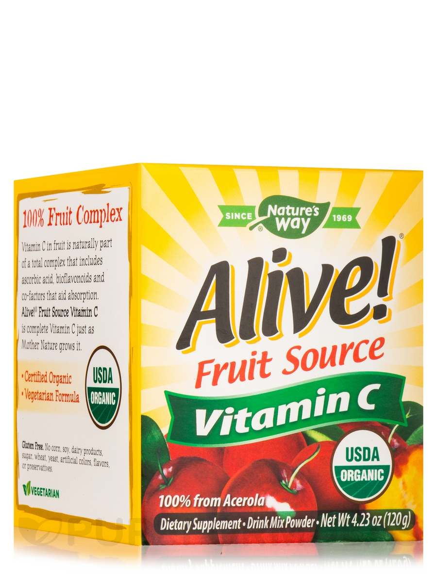 Alive!® Vitamin C Powder - 120 Grams