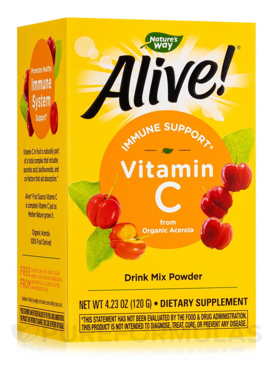 Alive!® Vitamin C Powder - 4.23 oz (120 Grams)