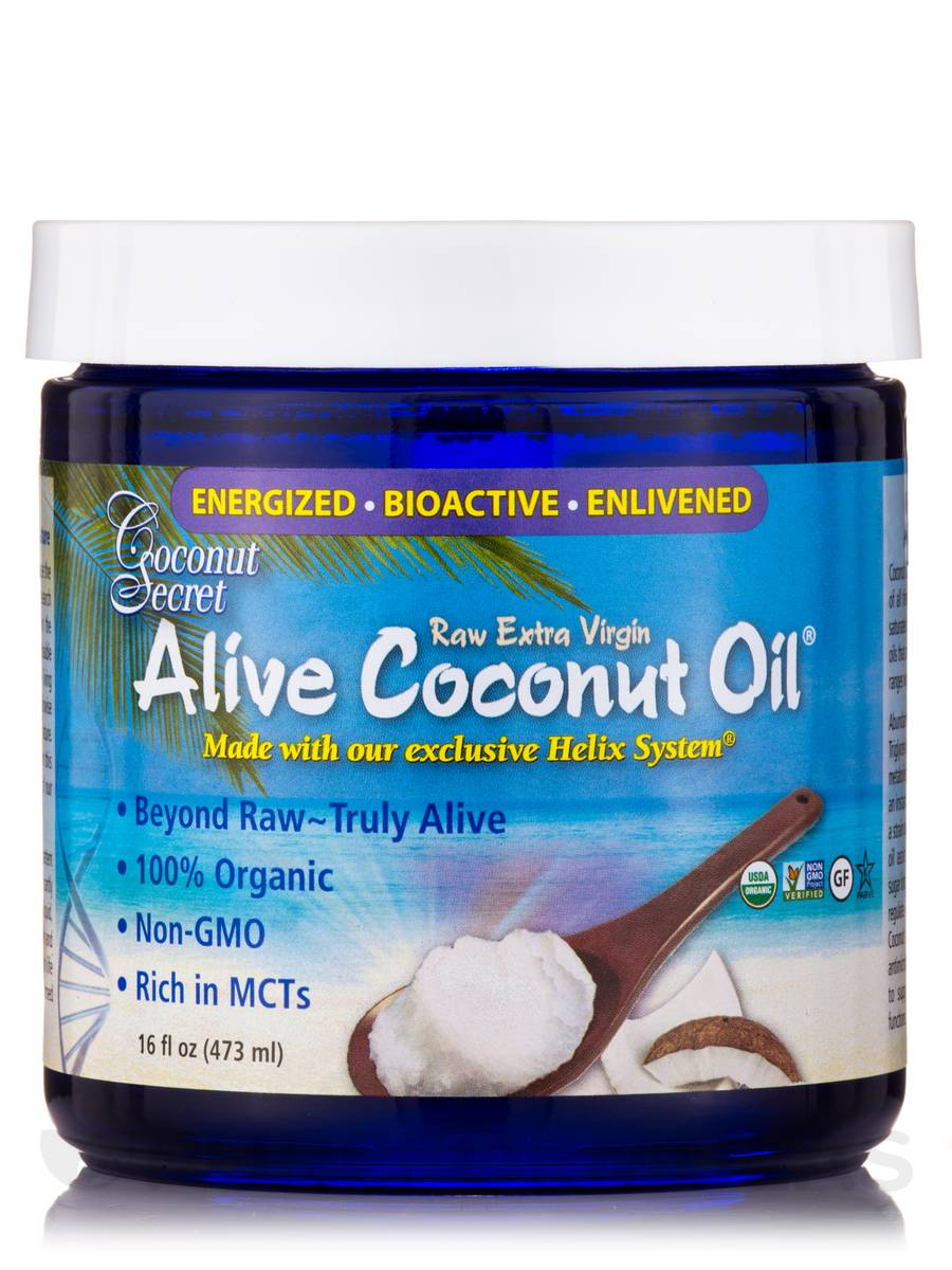 Alive Coconut Oil® - 16 fl. oz (473 ml)