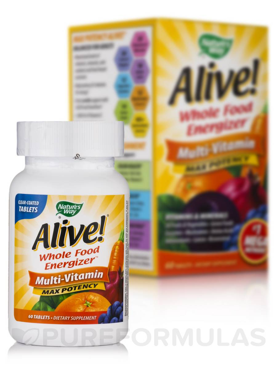 Alive!® Max Potency - 60 Tablets