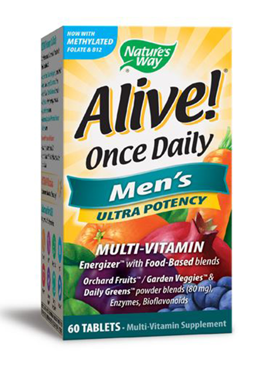 Alive!® Once Daily Men's Ultra - 60 Tablets