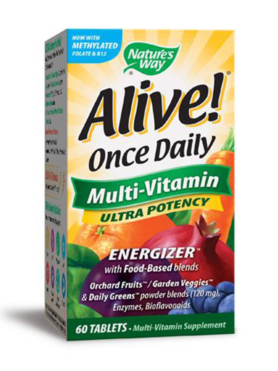 Alive!® Once Daily Ultra - 60 Tablets