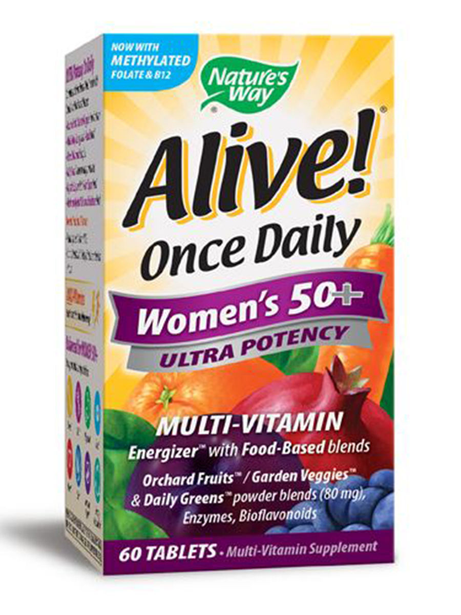 Alive!® Once Daily Women's 50+ Ultra - 60 Tablets