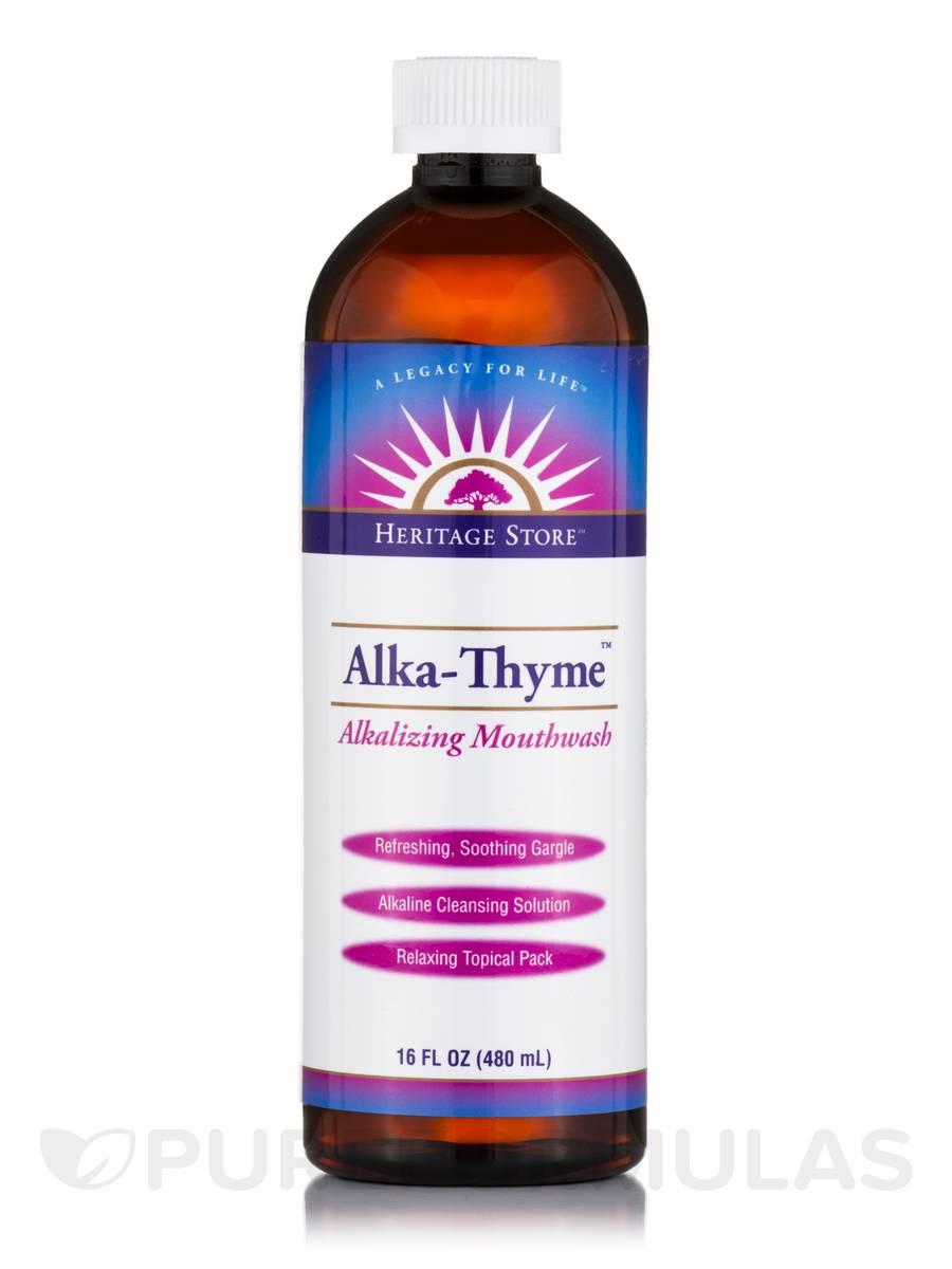 Alka-Thyme™ Alkalizing Mouthwash - 16 fl. oz (480 ml)