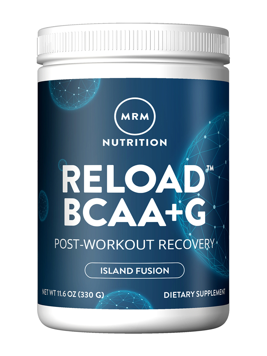 BCAA + G RELOAD™ Post-Workout Recovery, Island Fusion Flavor - 11.6 oz (330 Grams)