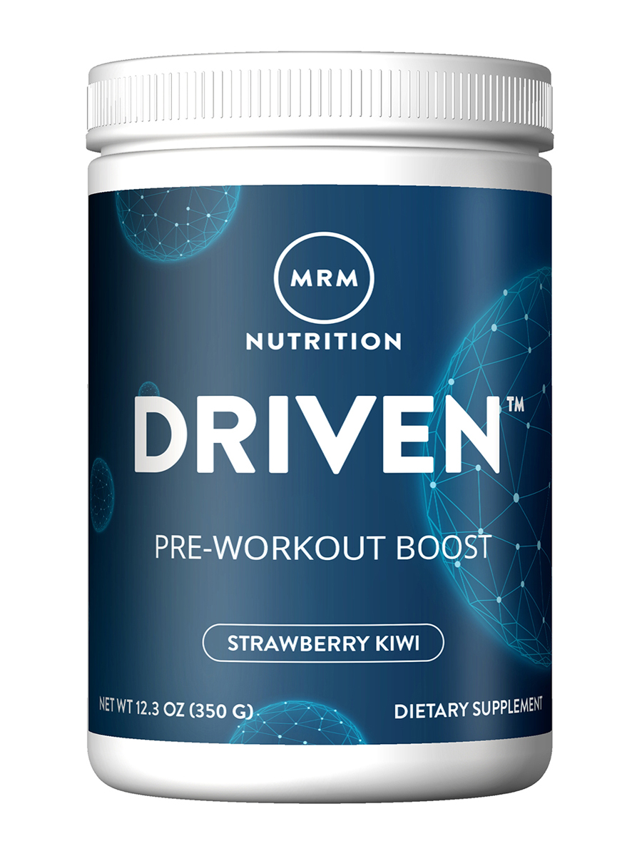 Driven™ Pre-Workout Boost, Strawberry-Kiwi Flavor - 12.3 oz (350 Grams)