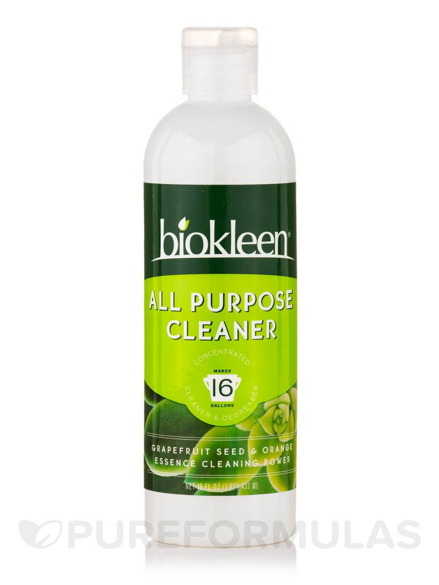 All Purpose Cleaner (Concentrated Cleaner & Degreaser) - Grapefruit Seed & Orange Essence - 16 fl. oz (437 ml)