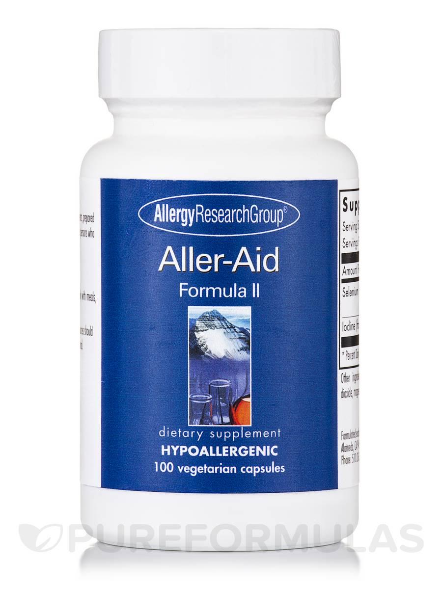 Aller-Aid Formula II - 100 Vegetarian Capsules