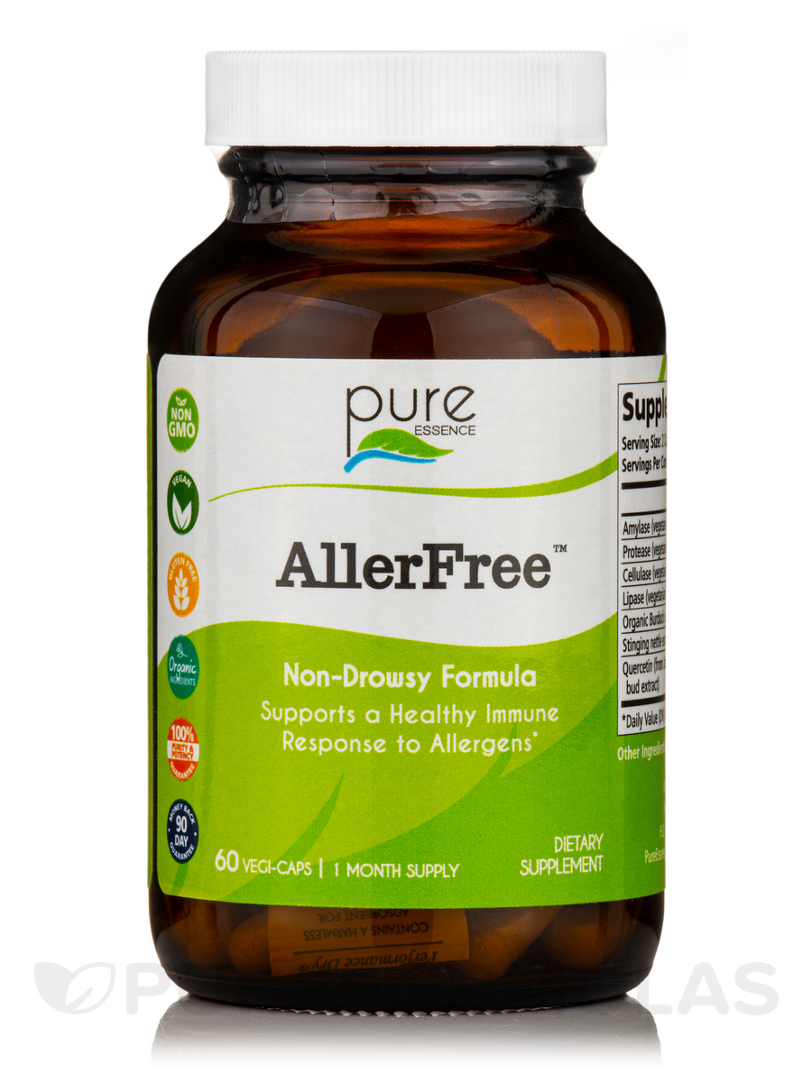 AllerFree, Enzymatic Allergy Control - 60 Capsules