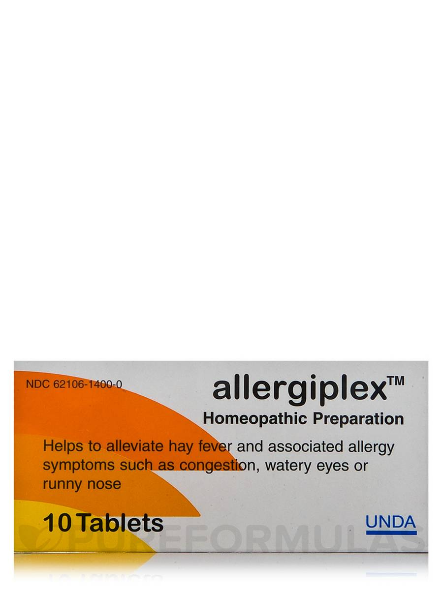 Allergiplex - 10 Tablets