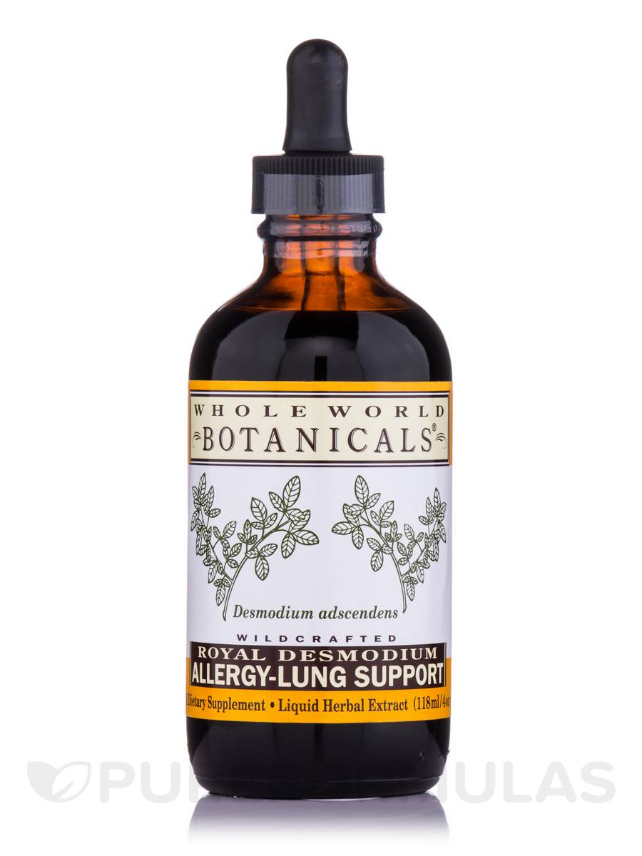 Royal Desmodium™ Allergy-Lung Support Liquid Extract - 4 oz (118 ml)