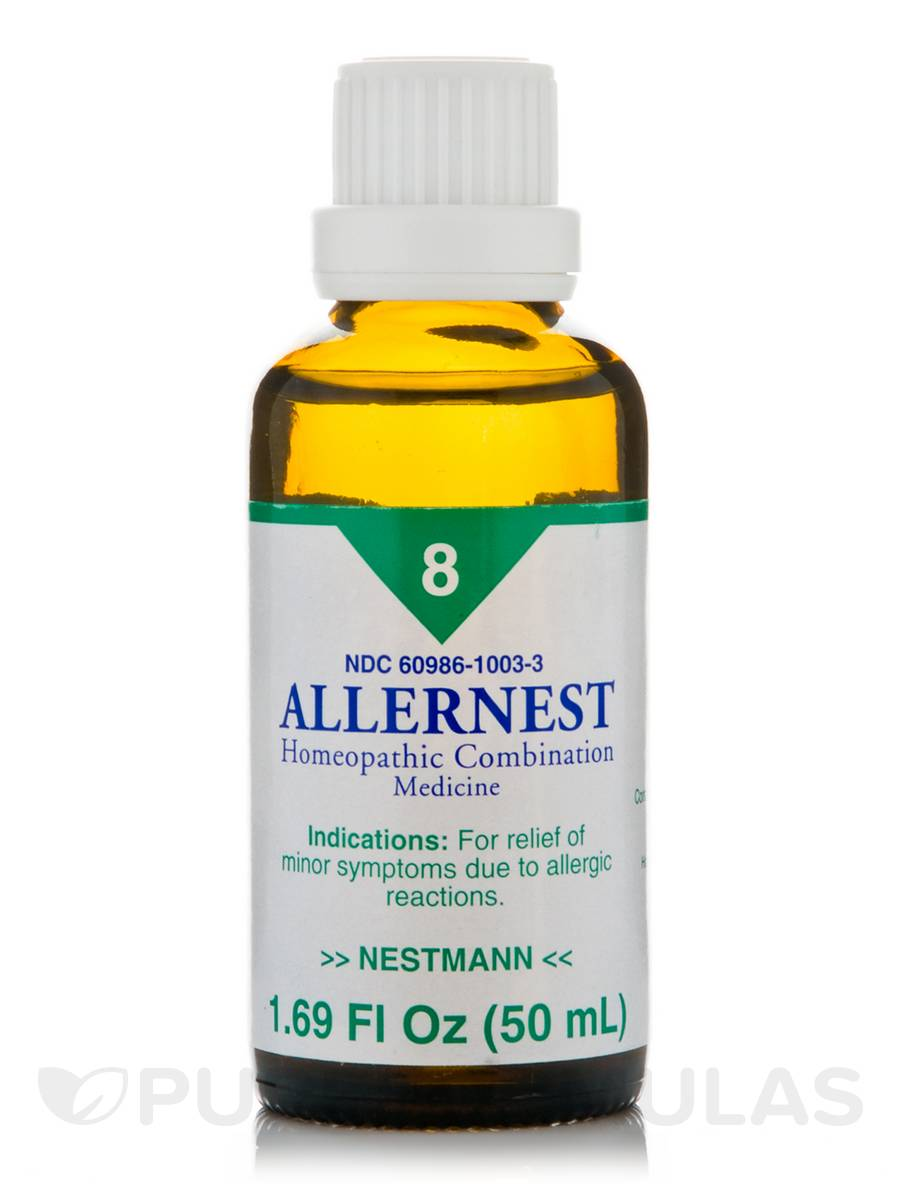 Allernest homeopathic liquid - 1.69 fl. oz (50 ml)
