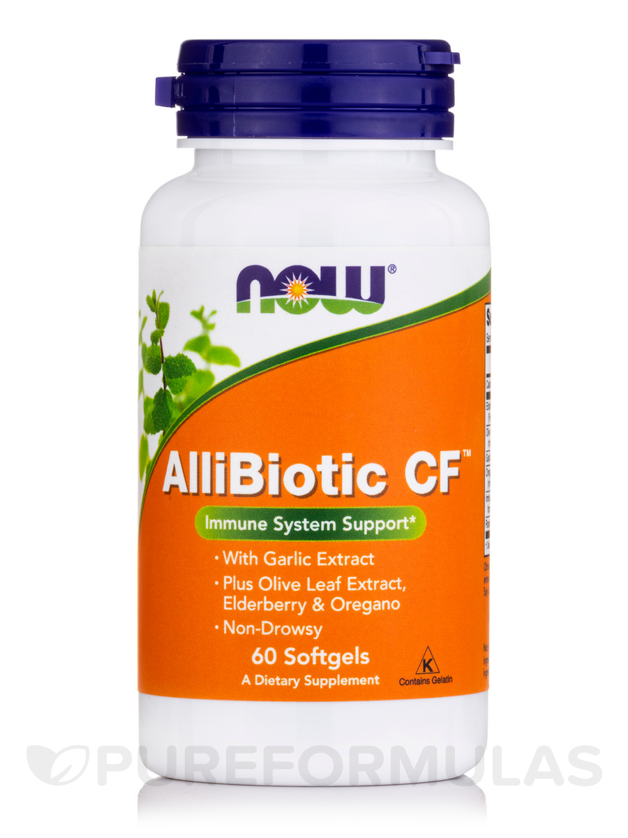AlliBiotic Non-Drowsy CF - 60 Softgels
