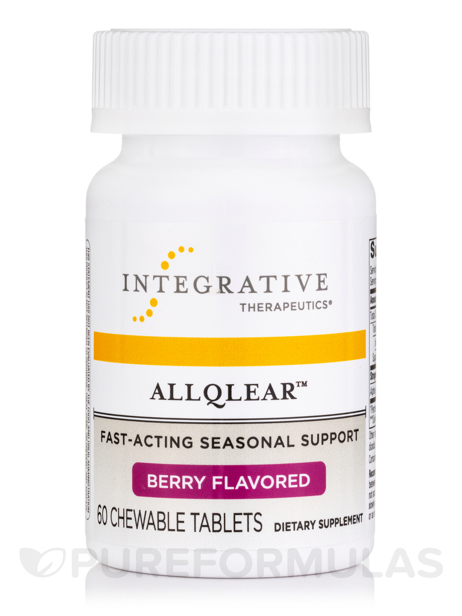 AllQlear™, Berry Flavored - 60 Chewable Tablets
