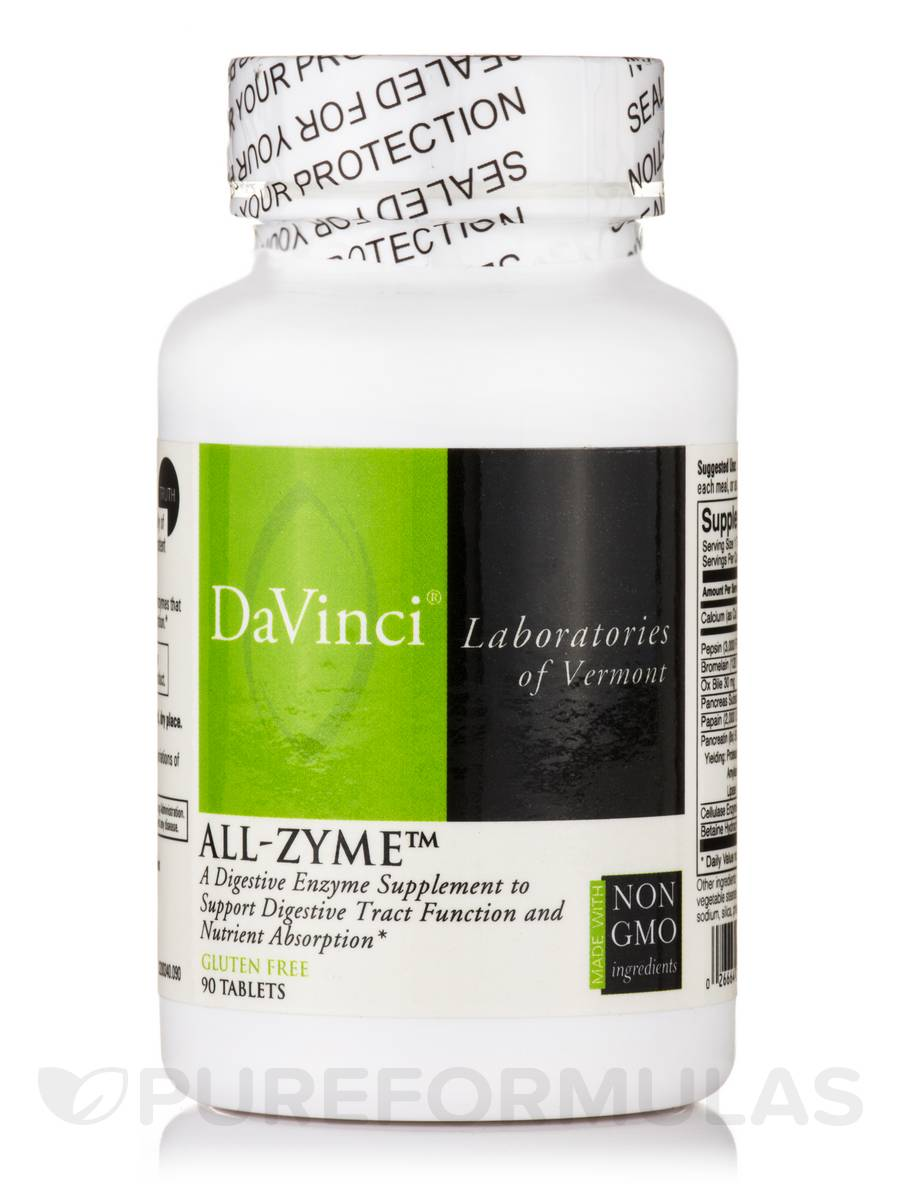 All-Zyme™ - 90 Tablets