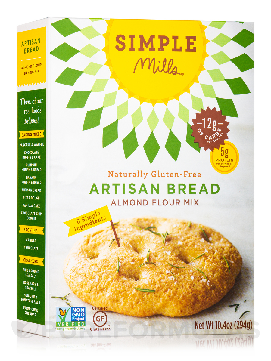 Almond Flour Artisan Bread Mix - 10.4 oz (294 Grams)