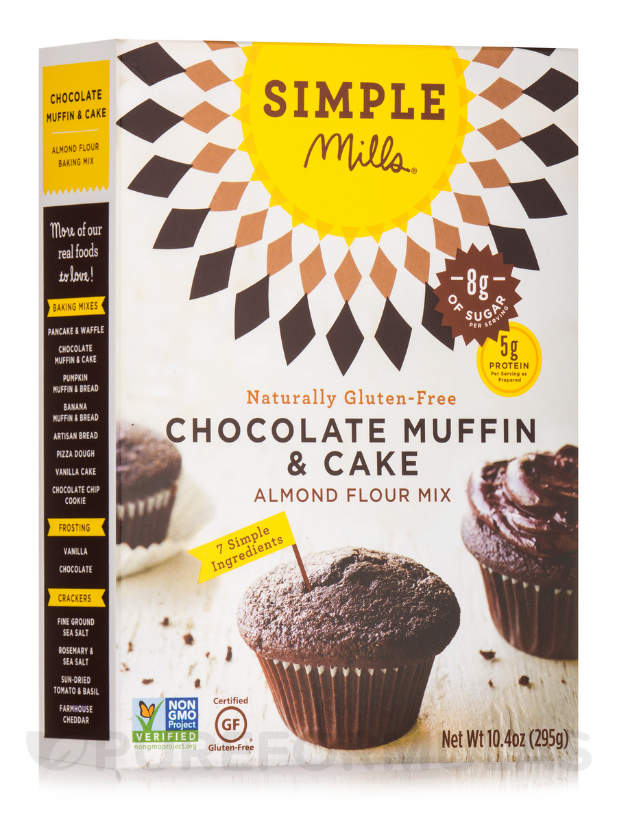 Almond Flour Chocolate Muffin & Cake Mix - 10.4 oz (295 Grams)
