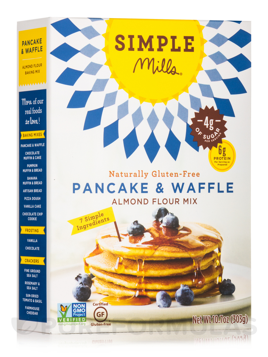 Almond Flour Pancake & Waffle Mix - 10.7 oz (303 Grams)