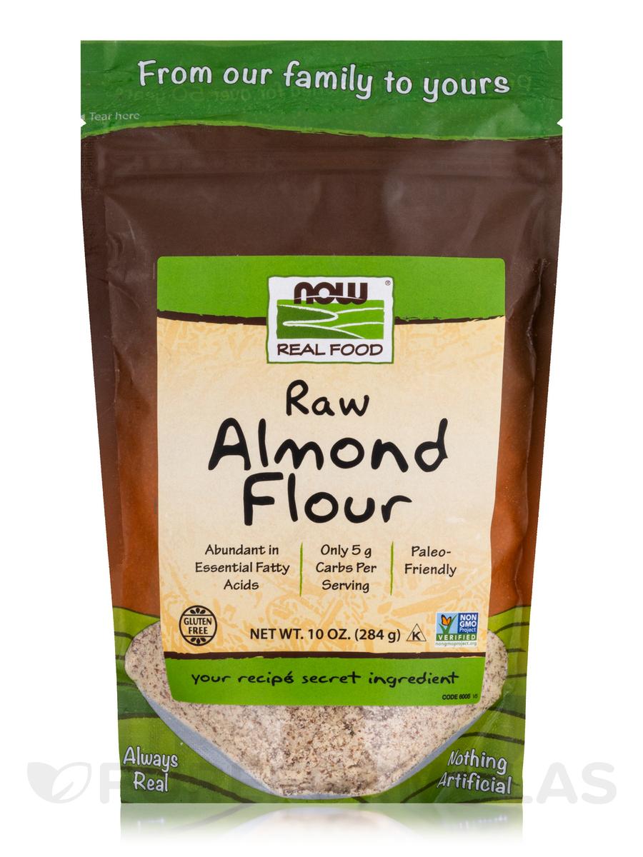 NOW® Real Food - Raw Almond Flour - 10 oz (284 Grams)