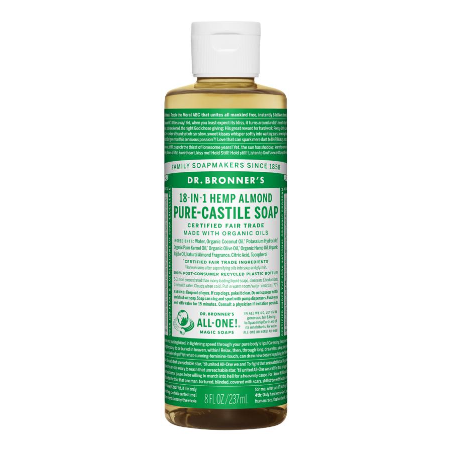 Almond Oil Pure Castile Liquid Soap - 8 fl. oz (237 ml)