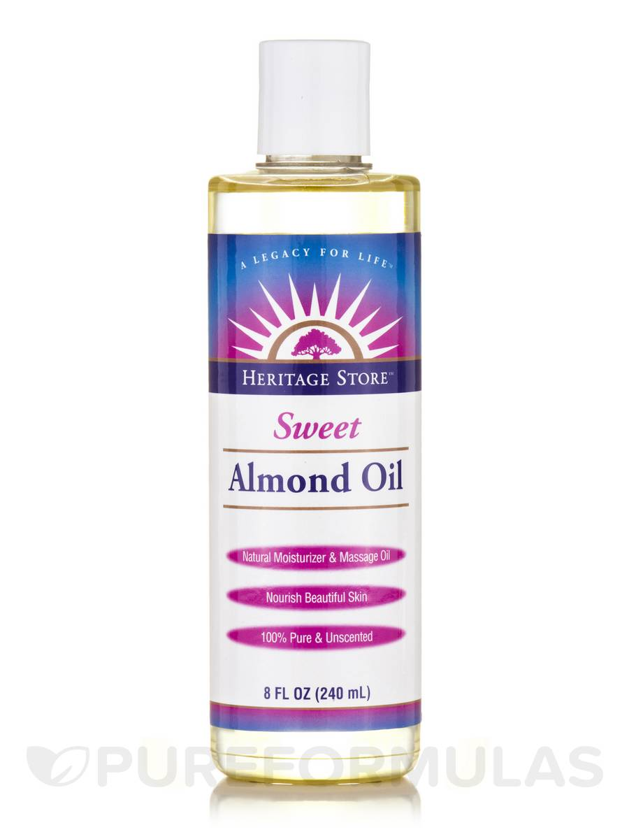 Almond Oil (Sweet) - 8 fl. oz (240 ml)