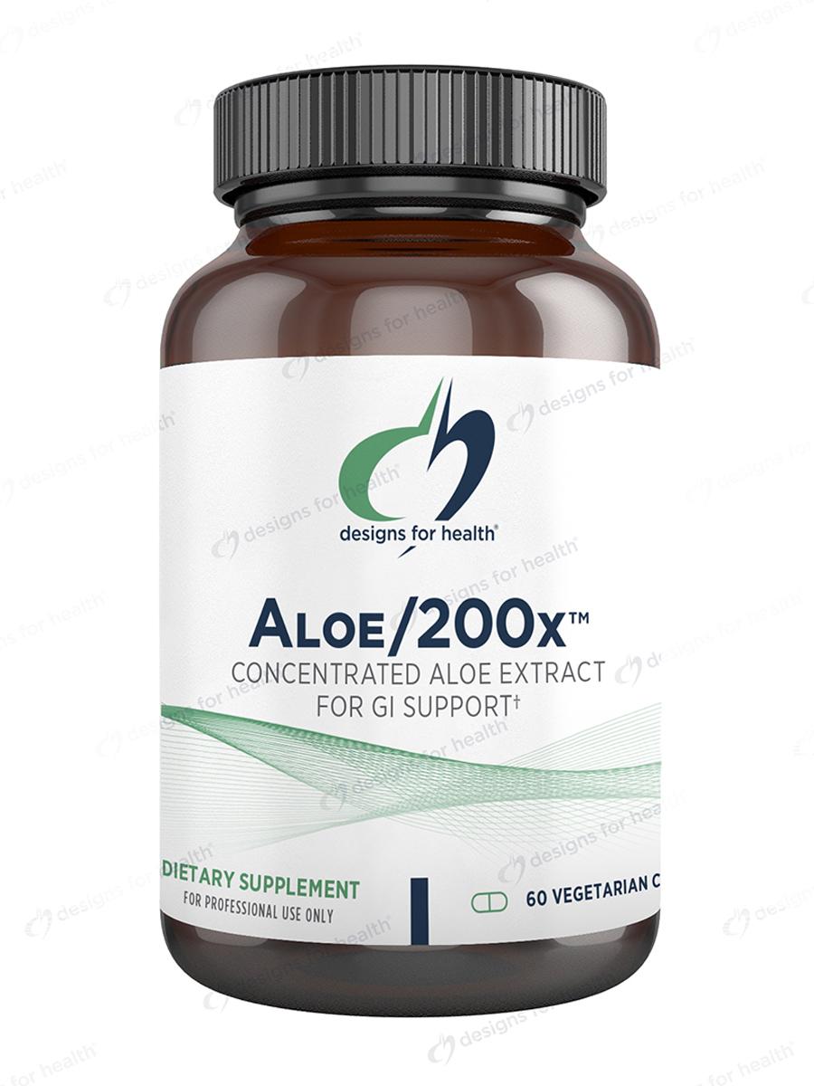 Aloe/200x™ - 60 Vegetarian Capsules
