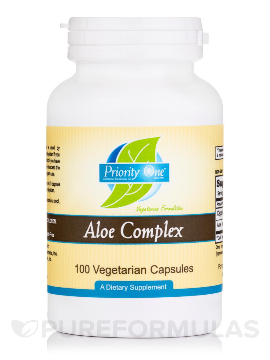Aloe Complex - 100 Vegetarian Capsules