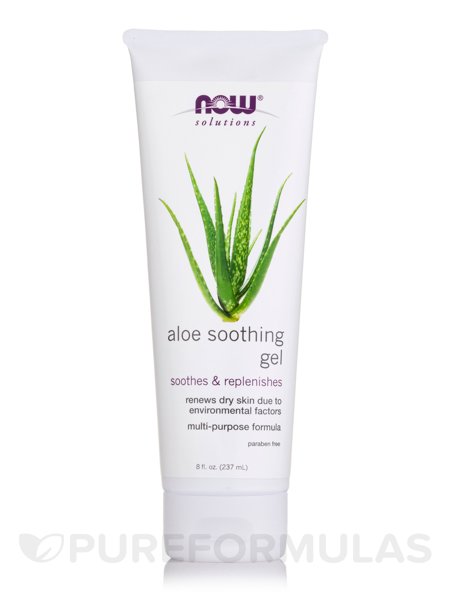 NOW® Solutions - Aloe Soothing Gel - 8 fl. oz (237 ml)