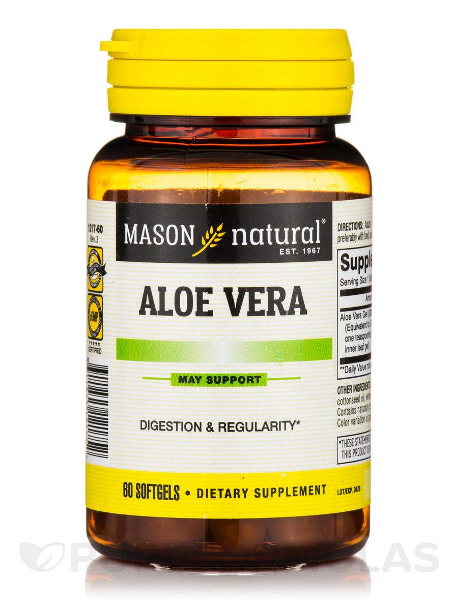 Aloe Vera - 60 Softgels