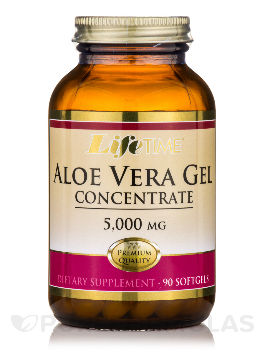Aloe Vera Gel 5000 mg - 90 Softgels