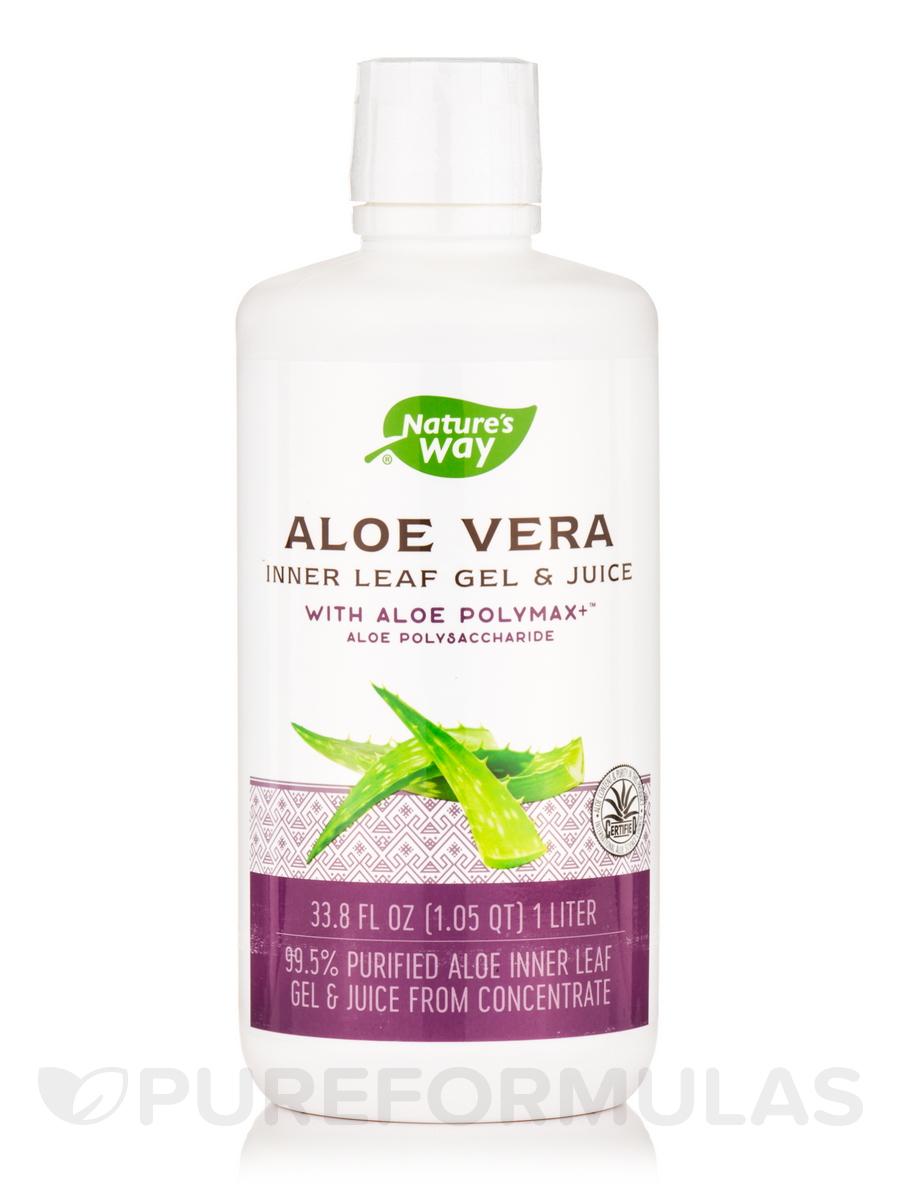 Aloe Vera Inner Leaf Gel & Juice - 1 Liter (33.8 fl. oz)