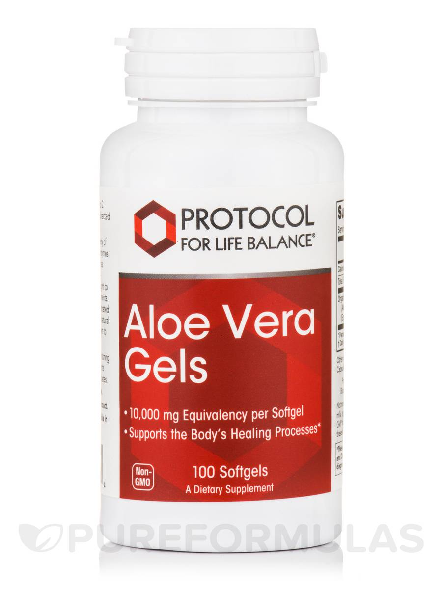 Aloe Vera Gels 200:1 Concentrate - 100 Softgels