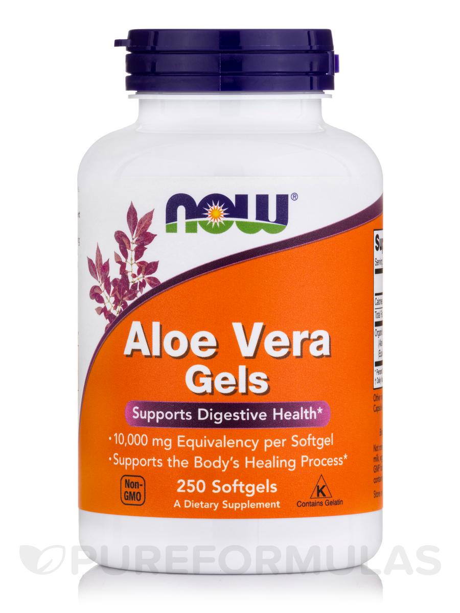 Aloe Vera Gels - 250 Softgels