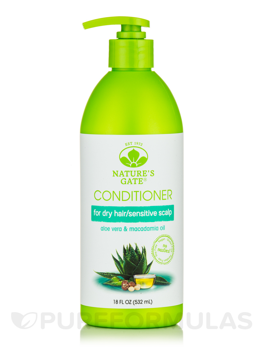 Aloe Vera + Macadamia Oil Moisturizing Conditioner - 18 fl. oz (532 ml)