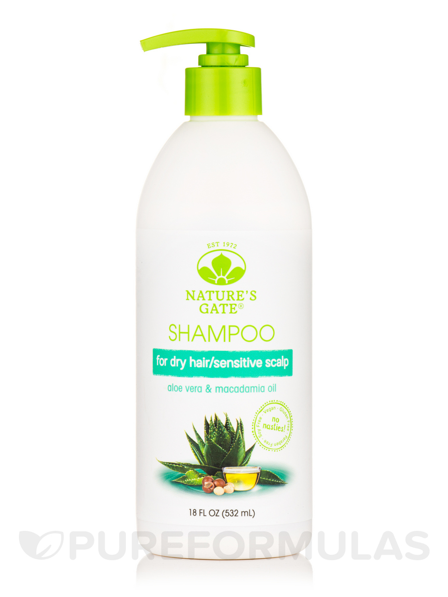 Aloe Vera + Macadamia Oil Moisturizing Shampoo - 18 fl. oz (532 ml)