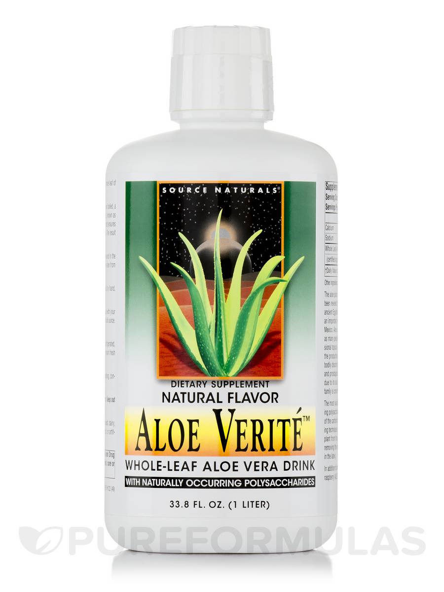 Aloe Verite Natural - 33.8 fl. oz (1 Lt) (1000 ml)