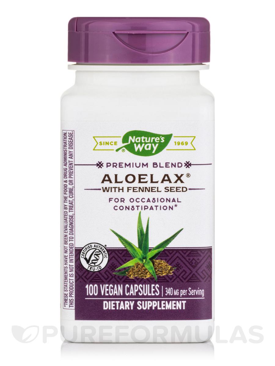 Aloelax - 100 Vegetable Capsules